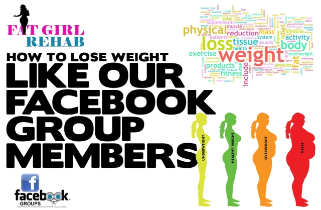 how to lose weight like our facebook group members banner