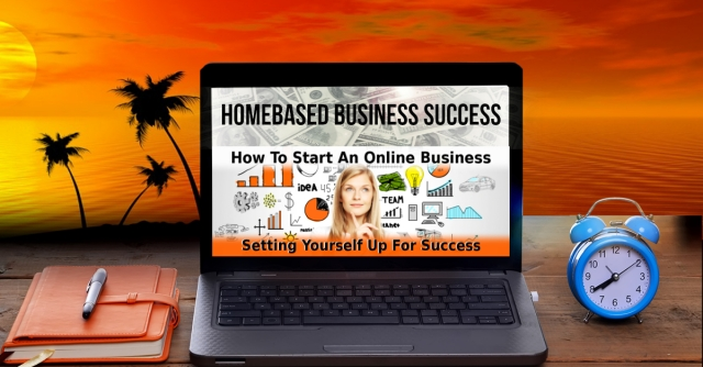 how to start a successful homebased business banner